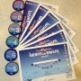 Learn to swim badges
